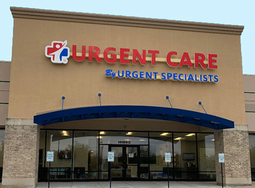 Urgent Specialists St Louis Front Entrance