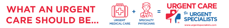 Urgent Specialists Horizontal Banner