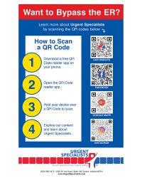 Urgent Specialists QR Codes Poster