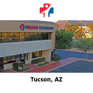 Urgent Specialists Tucson front of building